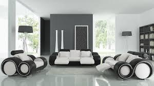 canapé design salon en cuir relax avec canapé 3 places 2 places et