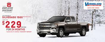Vermilion Chevrolet Buick GMC Is A Tilton Chevrolet, GMC, Buick ... Chevrolet Silverado Lease Deals Near Jackson Mi Grass Lake Traverse Price Lakeville Mn New Chevy Quirk Near Boston Ma No Brainer Vehicle Service Specials In San Jose Silverado 3500hd 2014 Fancing Youtube 2500 Springfield Oh Special Pricing For And Used Chevrolets From Your Local Dealer 1500 Incentives Offers Napa Ca Quakertown Ciocca 2018 169month For 24 Months
