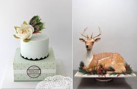 Rustic Wedding Cake In Sage With Peacock Feathers By Faye Cahill Design Left And Sculpted