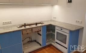 köln ikea küche mit viscont white granit arbeitsplatten