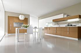 Stunning Minimalist Kitchen Design For Home Decor Concept With Color Cabinet Intended