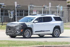 2020 GMC Acadia Spied Testing Its Mid-Cycle Refresh » AutoGuide.com News Exceptional 2017 Gmc Acadia Denali Limited Slip Blog 2013 Review Notes Autoweek New 2019 Awd 2012 Photo Gallery Truck Trend St Louis Area Buick Dealer Laura Campton 2014 Vehicles For Sale Allwheel Drive Pictures Marlinton 2007 Does The All Terrain Live Up To Its Name Roads Used Chevrolet 2016 Slt1