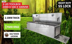 Aluminium Toolbox 3 Door Ute Truck Storage Trailer Tool Box Camper ... Buy Locking Paddle Latch W Black Powder Coated Finish Cabinet Lock Uws Truck Boxes Tool Storage The Home Depot Delta 21 In Alinum Mid Lid Full Size Crossover Box With Gear Cheap Chest Find Deals On Line Pilot Automotive Bed Swing Out Step Pinterest Bed Best Choice Products 49 Camper Lock Pickup Images Collection Of Low Profile Truck Box Dash Z Racing 692x1375 Silver Boxes For Trucks How To Decide Which Toolbox At Coat Rack 25 Locks Ideas On