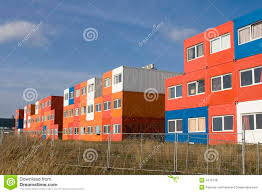 100 Cargo Houses Homes Stock Photo Image Of Blue Development Container 4475148
