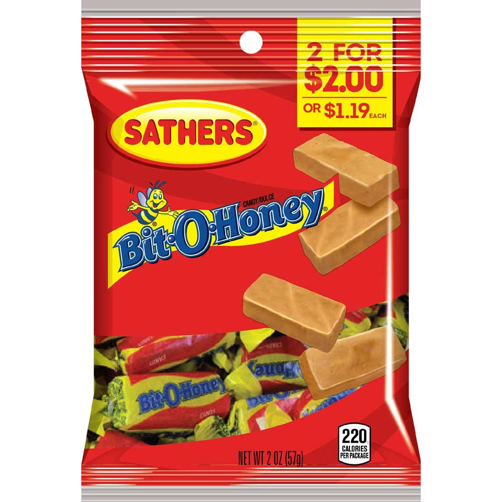 Sathers Bit-o-honey Candy - 2oz