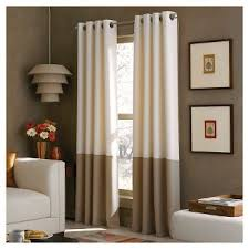 Eclipse Curtains Thermaback Vs Thermaweave by Ivory Grommet Curtains Target