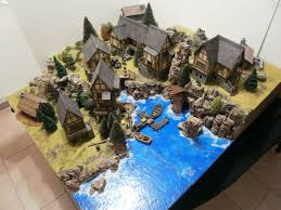 Making 3d Dungeon Tiles by Dungeons 3d Modular Table Miniatures And Model Making