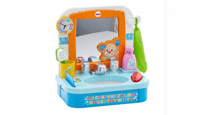 Fisher-Price Laugh & Learn Let's Get Ready Sink By Fisher-Price ... Fisher Price Laugh And Learn Farm Jumperoo Youtube Amazoncom Fisherprice Puppys Activity Home Toys Animal Puzzle By Smart Stages Enkore Kids Little People Fun Sounds Learning Games Press N Go Car 1600 Counting Friends Dress Sis Up Developmental Walmartcom Grow Garden Caddy