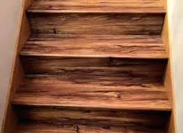 Plank Flooring Stair