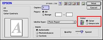 You Can Create And Save Your Own Custom Setting In The Print Screen To Do This Make Sure That Media Type Color Settings Box
