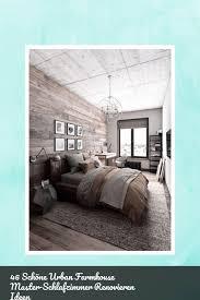 46 schöne farmhouse master schlafzimmer