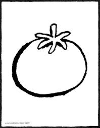 Tomate Coloriage Et Dessin Livre Illustration De Conception De
