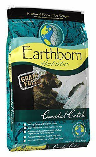 Earthborn Holistic Dog Food - Grain Free, Coastal Catch, 14lb
