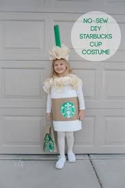 No Sew DIY Starbucks Cup Costume