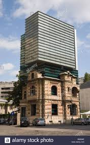 100 Architectural Modern Bucharest Romania Union Building Showing Modern And