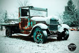 100 Trucks In Snow A Classic Ford Covered In Every Vehicle Has A Story To Tell