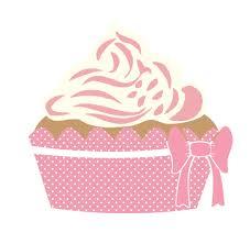 Cute Cupcake Pink Clipart