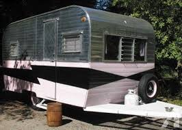 1960 Vintage Kenskill Travel Trailer