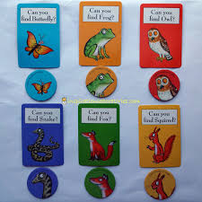 Matching Game From The Gruffalo Board Characters