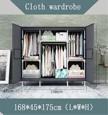 lhy save kleiderschrank aus stoff leicht zusammenzubauen