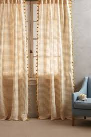 Plum And Bow Blackout Pom Pom Curtains by Sun Shadow Curtain Anthropologie Apartment Living And Apartments