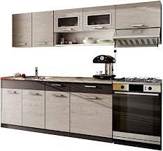 küche moreno 180 240 cm mit arbeitsplatte farbauswahl