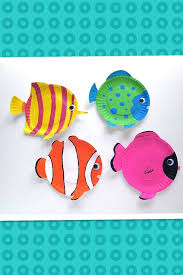 Art And Craft For Kids With Paper Cups Step By Best Of Plate Fish Education Pinterest