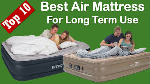 Best Air Mattress For Long Term Use Everyday Use Camping Best