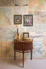Travel Maps Wall Coverings You Can Even Create Your Own Ones Showing Trips