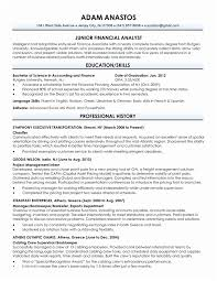 Cv Template Accounting Graduate Resume Sample For Fresh Of