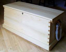 craftsman built sea chests tool chests dittty box plans