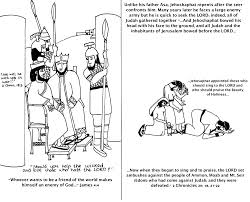 King Saul Coloring Sheet Pages
