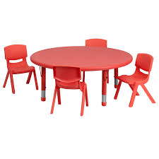 45'' Round Adjustable Red Plastic Activity Table Set With 4 School ... Flash Fniture 315inch Round Alinum Indoor Outdoor Table With 315 Square Red Metal Inoutdoor Set 4 Stack Chairs Duet Tables Global Group Lifetime 9piece Black Stackable Folding Set80439 The Home Cafe Restaurant Seat Stock Image Of Ding Kitchen Ikea Traing And Mktrcc7224pl44be Foldingchairs4lesscom T42rdb1922slmh2300p03 Bizchaircom Amazoncom Kee 42 Breakroom Mahogany M Rattan 3 Classic Teak Garden Eight Oval Stacks Store