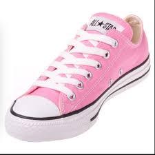 off Converse Shoes Light Pink Converse from Lauren s closet