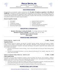 Nurse Manager Resume Examples Sample Registered Hospice Rn