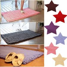 Chenille Carpet by 50x30cm Chenille Non Slip Absorbent Bathroom Rug Floor Carpet Door