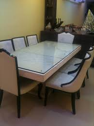 Furniture Gorgeous Italian Marble Dining Table 9 Crafty Design Ideas Second Hand Best India Together With