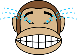 Laughing Emoji Monkey Out Loud Icons Graphic Library
