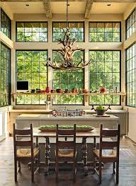 Rustic Shelf Decorating Ideas Kitchen With Wood Cabinets Vaulted Ceiling