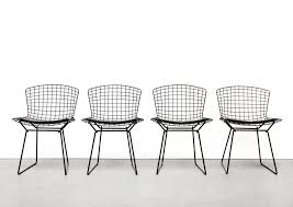 Set Of 4 Harry Bertoia Wire Dining Chairs In Black With Cushion   #83131 White Wire Diamond Ding Chair Fmi1157white The Home Depot Shop Poly And Bark Padget Eiffel Leg Set Of 2 Bottega Tower Ding Chair By Sohoconcept Luxemoderndesigncom Commercial Gold Leaf Shape Metal Chairgold Color Bellmont Bertoia Of Rose Harry Oster Black Project 62 In 2019 4 Wire Ding Chairs Black With Cushion 831 W Green Cushion Zuo Eurway Holly Reviews Joss Main Hashtag Bourquin Wayfair Simple Hollow For Living Room
