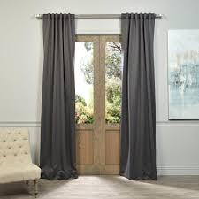Tahari Home Curtain Panels by Exclusive Fabrics U0026 Furnishings Semi Opaque Navy Blue Blackout