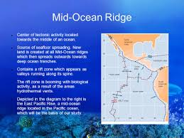 Where Does Seafloor Spreading Take Place by Life In Extreme Environments A Study Of The Prevalence Of Life In