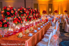 Lavish Wedding Table Decor In City Of Industry CA Indian By Global Photography