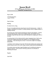 Resume Letter Introduction Examples Of Resumes