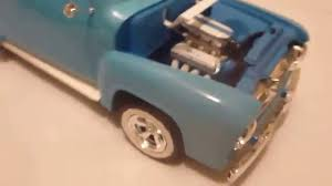 100 1955 Ford Panel Truck Ford 124 Scale Monogram Kit No2 For 2016 YouTube