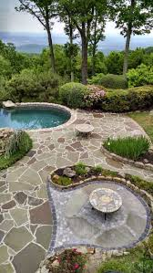 travertine pavers ta garden slate and pervious paver