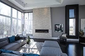 Grey Contemporary Living Room Ideas