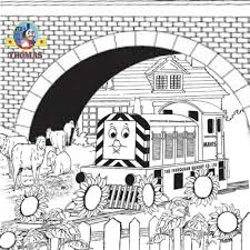 Free Online Thomas Coloring Pages For Kids Arts And Crafts With Friend Mavis The