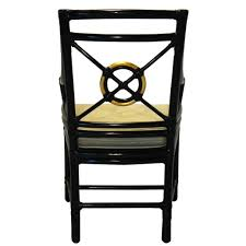 Dining Room Chairs Target by Set Of 8 American Mcguire Black Rattan Target Dining Chairs Eron