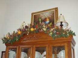 Decorating A China Cabinet For Christmas